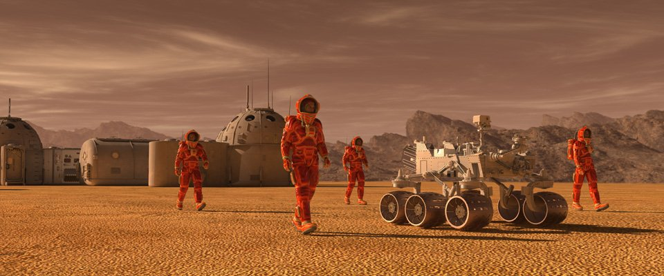 Mission to Mars 2: Die Besiedlung 1